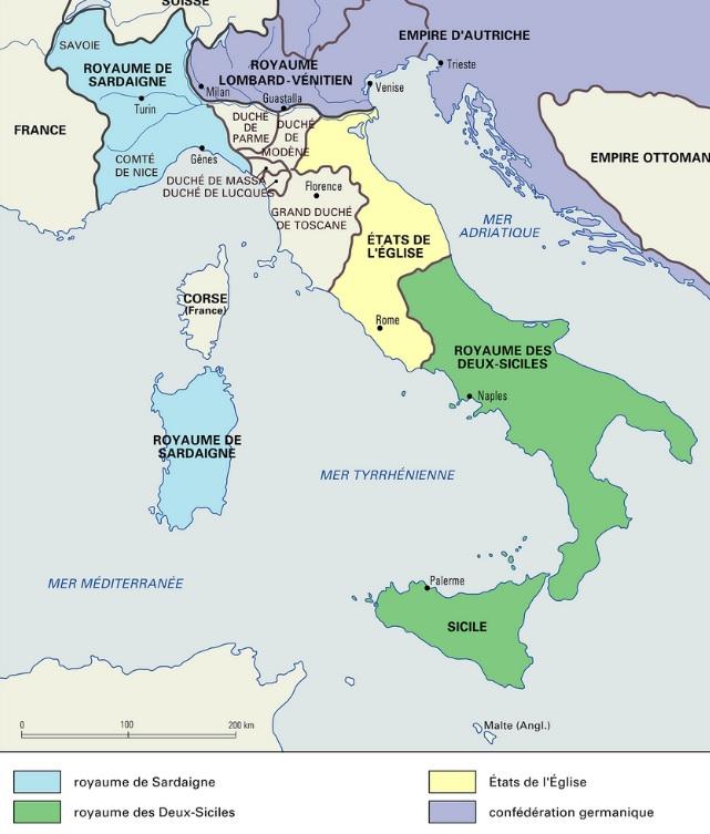 italie avant unité